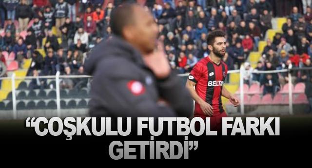 """""""COŞKULU FUTBOL FARKI GETİRDİ"""""""