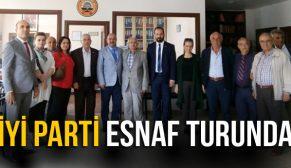 İYİ PARTİ ESNAF TURUNDA