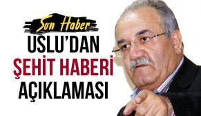 'DİĞER ŞEHİTLERDEN BİR FARKI YOK!'