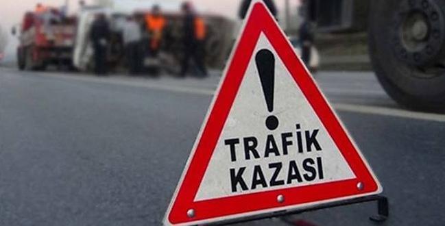 KARGI'DA TRAFİK KAZASI 3 KİŞİ YARALI