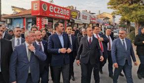 BAKAN ÇORUM'A DOLU GELDİ