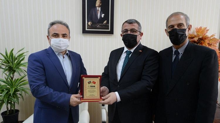 AZERBAYCAN'DAN ÇORUM'A DOSTLUK ZİYARETİ