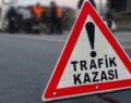 ALACA'DA TRAFİK KAZASI