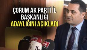 ÇORUM AK PARTİ'DE ŞOK GELİŞME