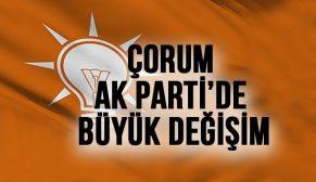 AK PARTİ ÇORUM'U YENİLİYOR