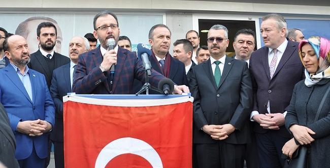 BAKAN'DAN SUNGURLU'YA MÜJDELER PEŞ PEŞE GELDİ