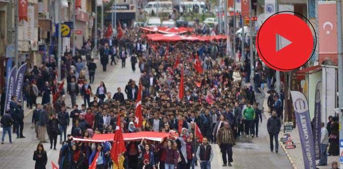 İSKİLİP'TE FRANSA PROTESTO EDİLDİ