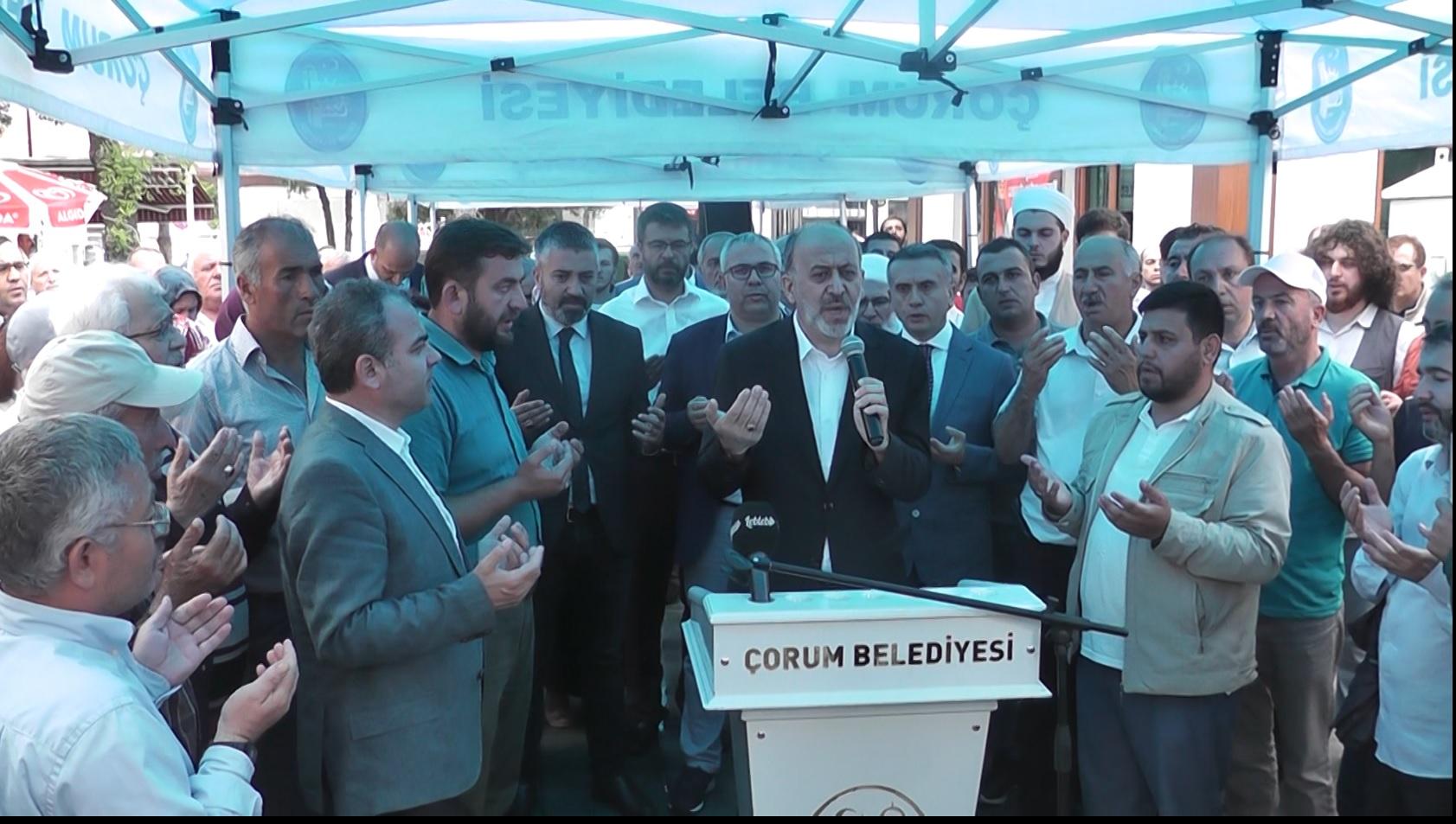 """""""MURSİ'NİN VERDİĞİ ONURLU MÜCADELENİN ŞAHİDİYİZ"""""""