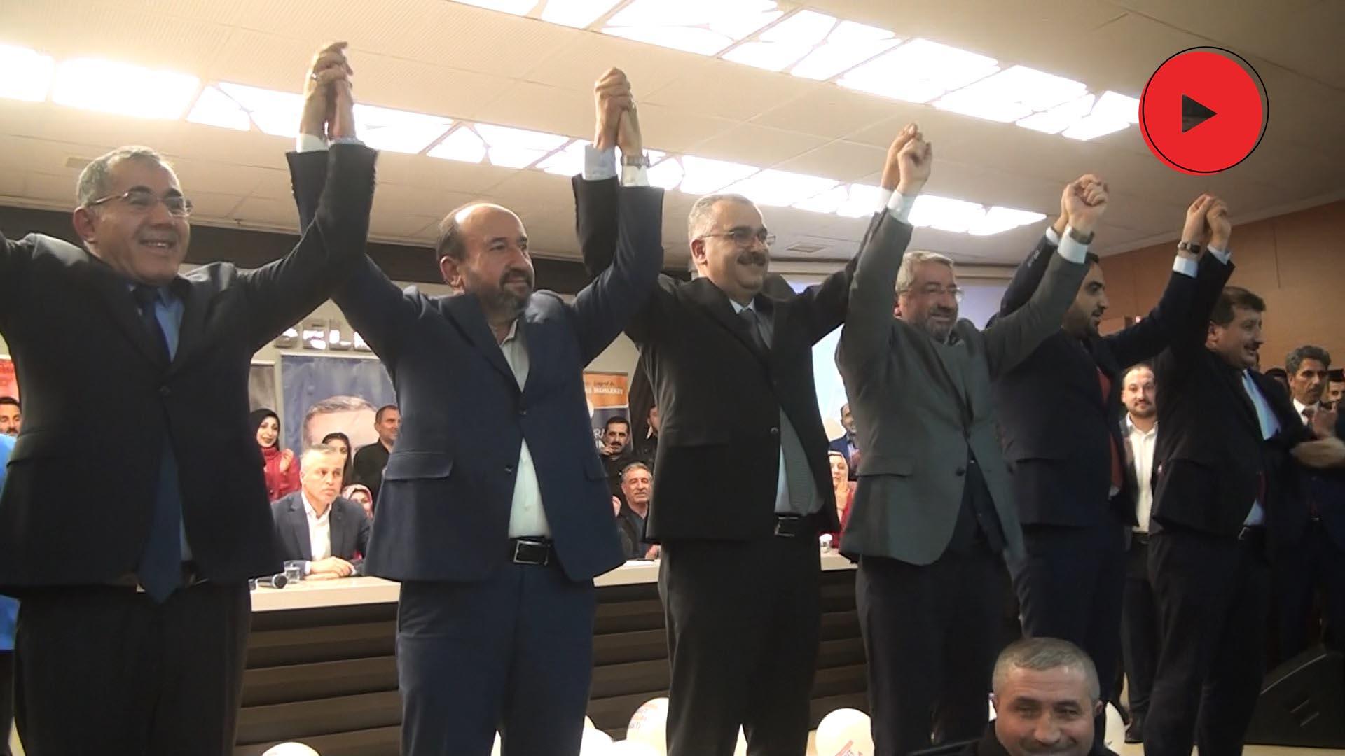 AK PARTİ'DE MAHALLE TEŞKİLATI TOPLANTISI