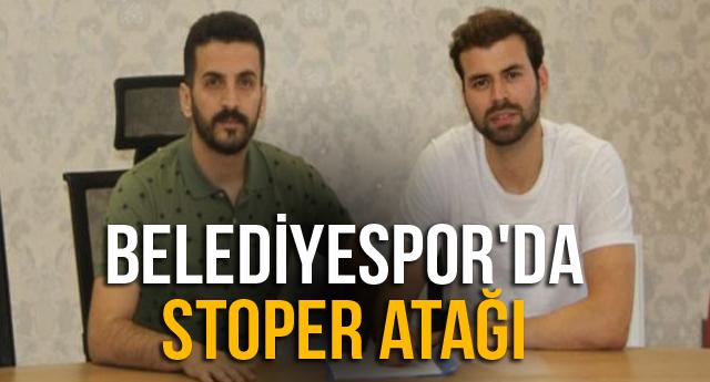BELEDİYESPOR'DA STOPER ATAĞI