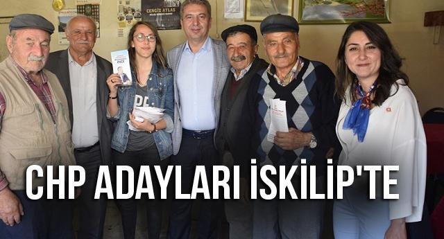 CHP ADAYLARI İSKİLİP'TE