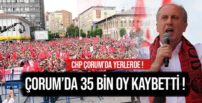 ÇORUM'DA CHP'YE SOĞUK DUŞ !