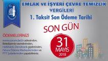 EMLAK VERGİSİNDE SON UYARI!