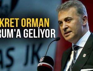 FİKRET ORMAN ÇORUM'A GELİYOR