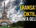 FRANSA'DA ÇIKTILAR, ÇORUM'DA YARIŞACAKLAR