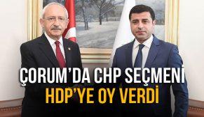 HDP ÇORUM'DA OYLARINI ARTTIRDI !