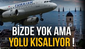 MERZİFON HAVAALANI YOLU KISALIYOR !