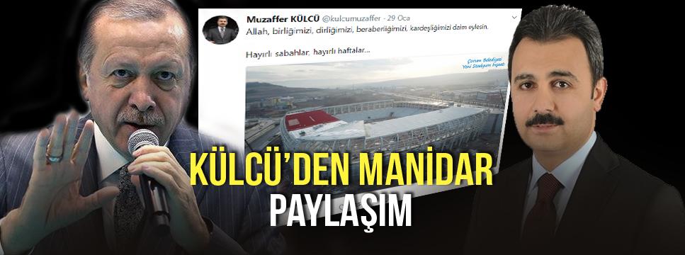 KÜLCÜ'NÜN DİKKAT ÇEKEN PAYLAŞIM !