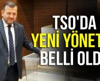 TSO'DA YENİ YÖNETİM BELLİ OLDU
