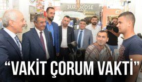 """VAKİT ÇORUM VAKTİ"""