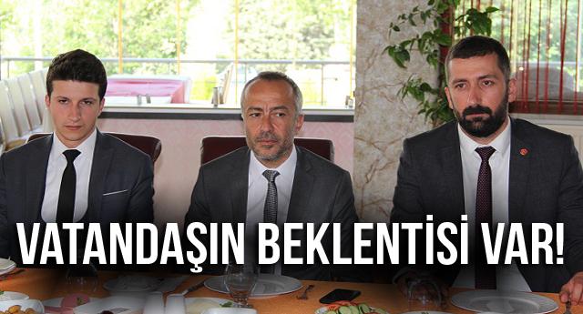 VATANDAŞIN BEKLENTİSİ VAR!