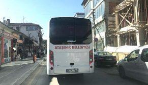 OTOBÜSLERLE ÇORUM'A GELDİLER