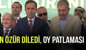 CEYLAN ÖZÜR DİLEDİ !