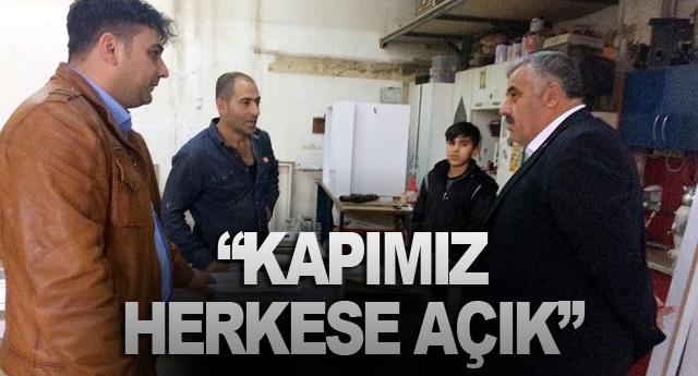 """""""KAPIMIZ HERKESE AÇIK"""""""