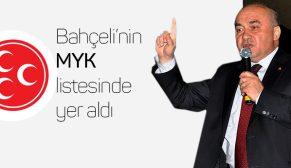 MHP, MYK'DA BİR ÇORUMLU