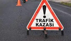 TRAFİK KAZASI 2 YARALI