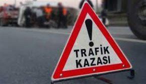 TRAFİK KAZASI 3 YARALI