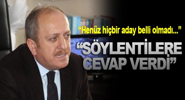 """""""SÖYLENTİLERE CEVAP VERDİ"""""""