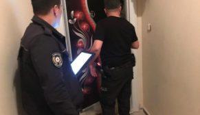 GÜNİBİRLİK EVLERE POLİS OPERASYONU