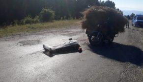 MOTOSİKLET KAZASI CAN ALDI