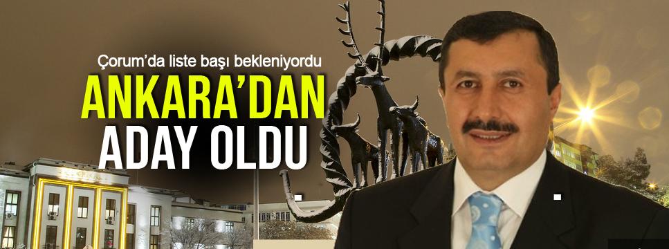YILDIRIM, ANKARA'DAN ADAY !