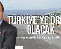 GÜNEŞ ENERJİSİ İLE ÇALIŞACAK !