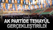 ÇORUM AK PARTİ'DE TEMAYÜL YOKLAMASI BAŞLADI