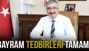 ÇORUM'DA BAYRAM TEDBİRLERİ ALINDI